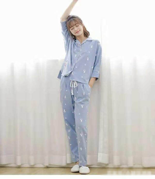 Cute wind pajamas