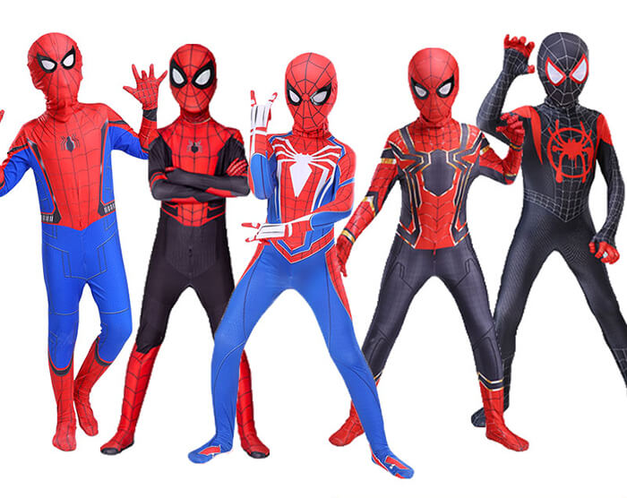 Spiderman Cosplay Costume